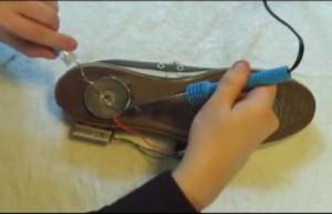 comment fabriquer des chaussures volantes le bidouilleur